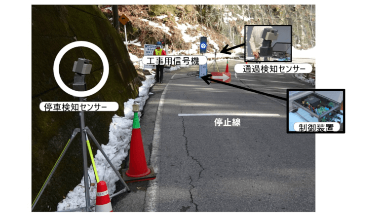 ALSOK、交通誘導員の省力化が図れる誘導システムを開発