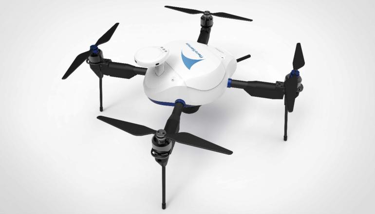 自律型無人航空機システムを活用した測量データ化サービス