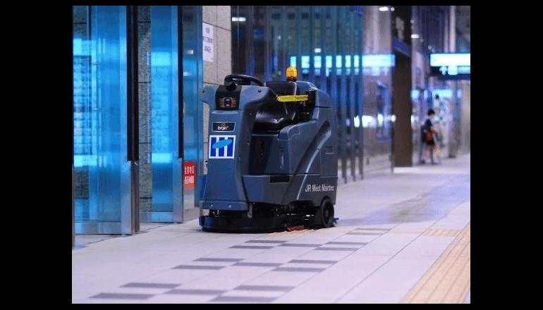 JR大阪駅でお掃除ロボットの運用を開始