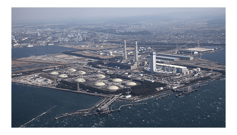 CO2排出量を約6万t削減する、ガスタービン入換え期間を24日減