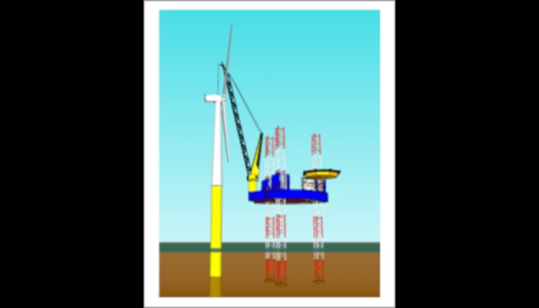 洋上風力発電施設の建設コストの20%低減を目指す