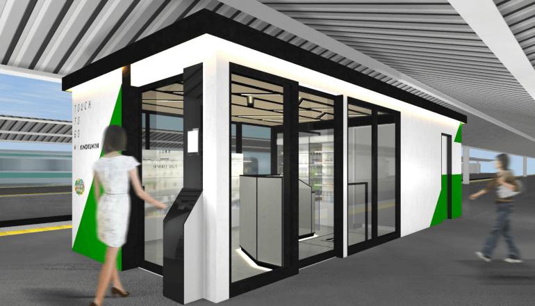 東京、赤羽駅でスマートな無人決済店舗の実用化をめざす