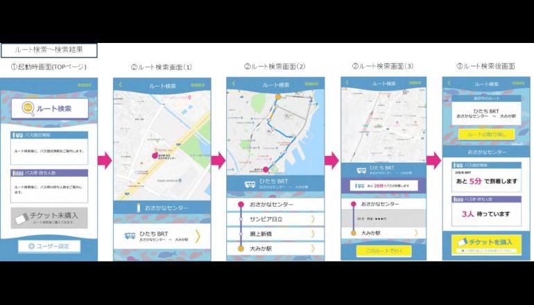 日立市の自動運転実証で将来の自動運転バスのサービス体験が可能