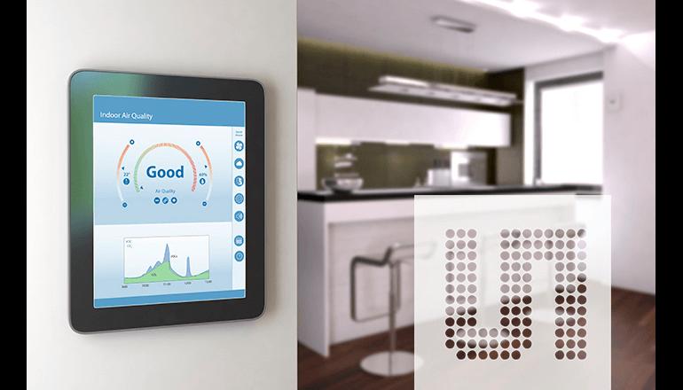 キッチンの蒸気や臭い、煙を検知するガスセンサーを発表、ams