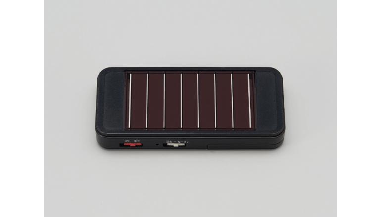 物品・機材管理、ソーラー蓄電型ビーコンにていつでもどこでも可能に