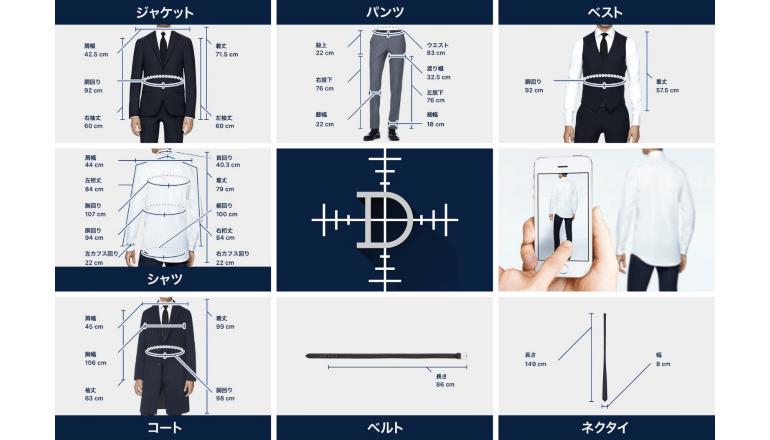 AIを活用して画像からオーダースーツを採寸するアプリ、コナカが開発