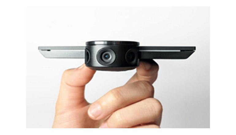 顔認識機能つき、知的な小型パノラマカメラが会議を変える