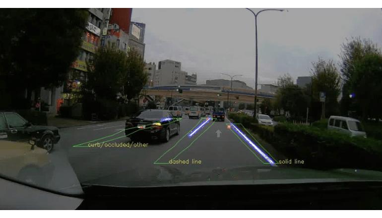 車載カメラを用いて高精度地図を作成する