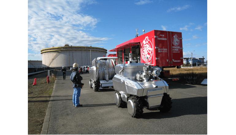自動運転可能な消防ロボット、人の接近を拒む火災現場で活躍する