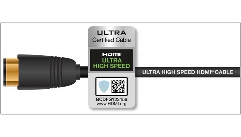 新しい超高速HDMIケーブル、すべての機能を認証ラベルで保証