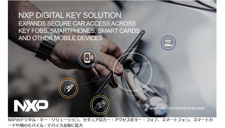 クルマへのアクセスを安全確実にする、車載デジタルキー基盤にて