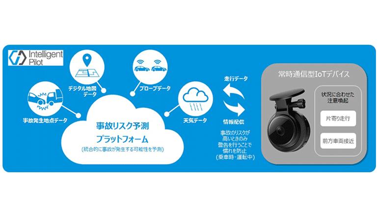 通信×情報、安全運転支援システムとドラレコでテレマティクス保険