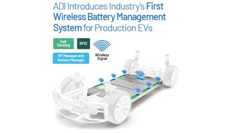 業界初!EV用ワイヤレス・バッテリ管理システムを量産車へ