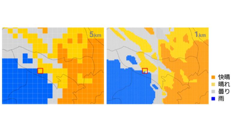 モビリティサービス開発に活かせる天気予報APIを提供