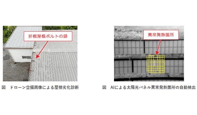 ドローン撮像×リスク評価手法にて、建物等の劣化を診断する