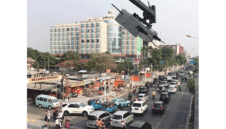 ASEAN地域で交通量を可視化、屋外広告の宣伝効果アップに