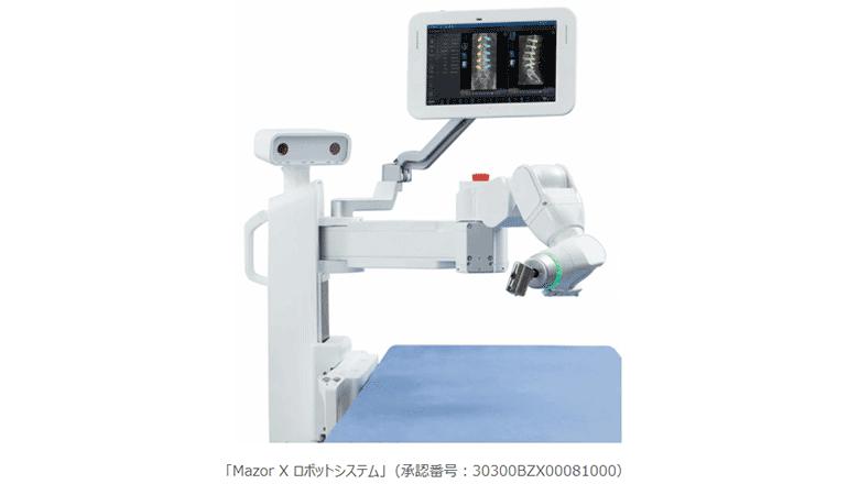 脊椎手術の計画作成~術後のシミュレーションまでをロボットが支援