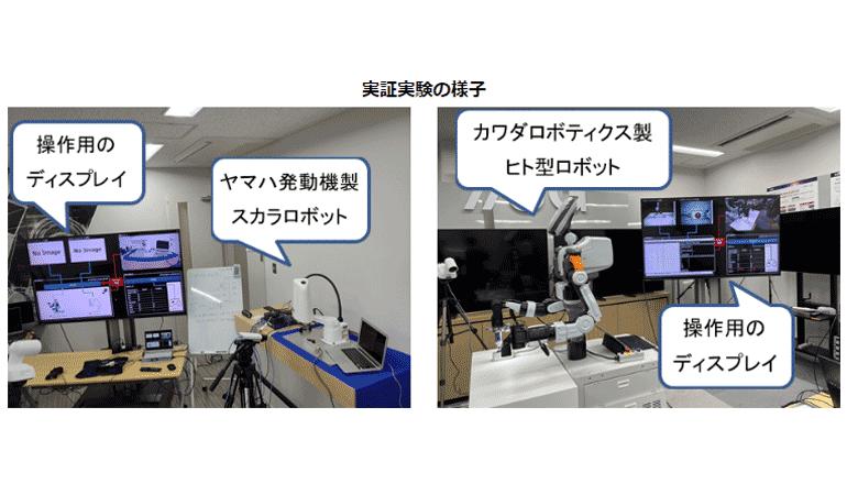 ORiN×5Gにて多様な産業用ロボットを遠隔操作