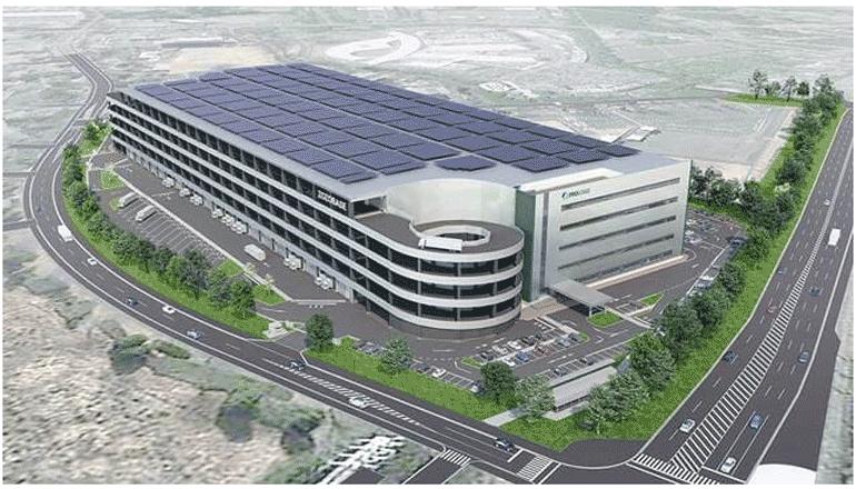 アパレルECの物流BTS施設を研究学園都市つくばに建設