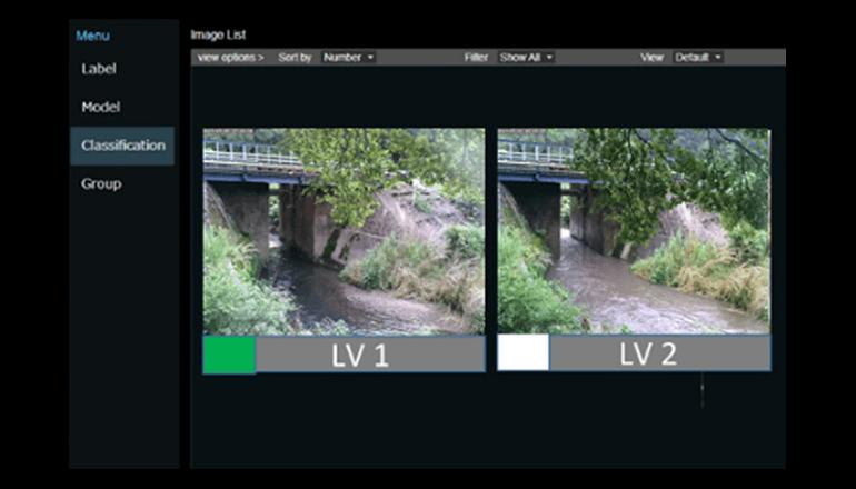茨城大学とNEC、河川画像から氾濫発生の危険度をAIで判定する実証実験を開始