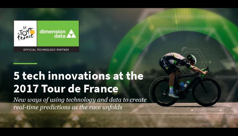 ツール・ド・フランスにマシンラーニングを導入、ディメンションデータ