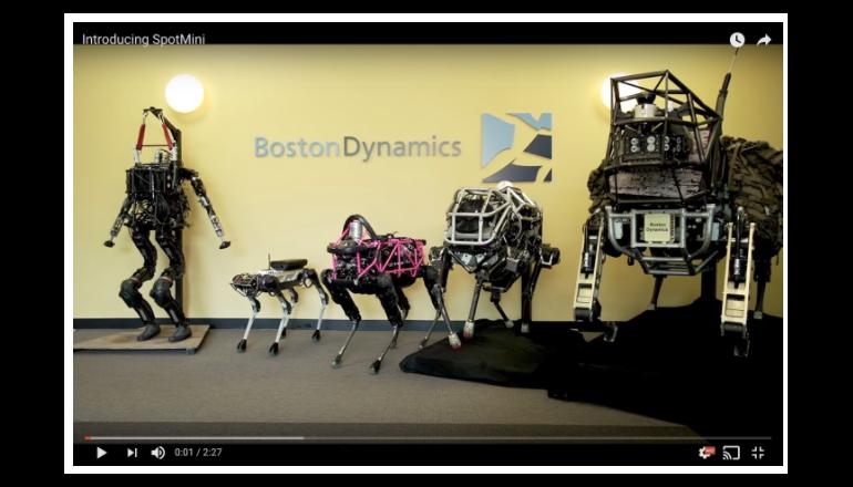 ソフトバンクがGoogle親会社から買収したロボット企業ってどんな会社?