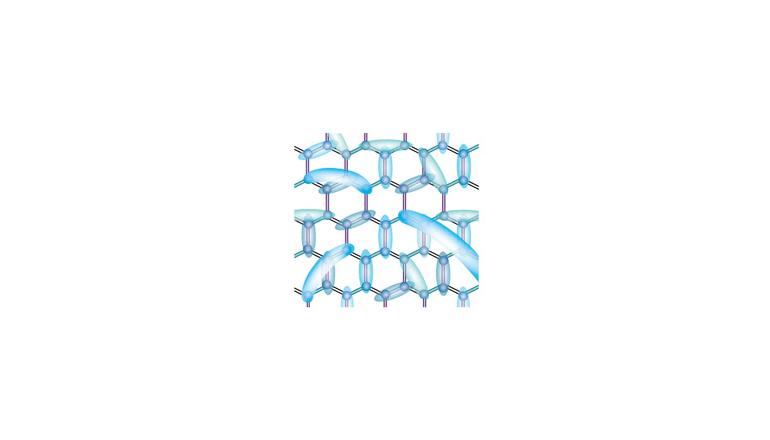 分子を使った乱れの設計により、量子スピン液体を実現
