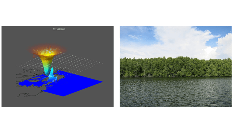 NECや京都大学ら、グリーンインフラを用いた「沿岸災害シミュレーションシステム」の研究開発を開始