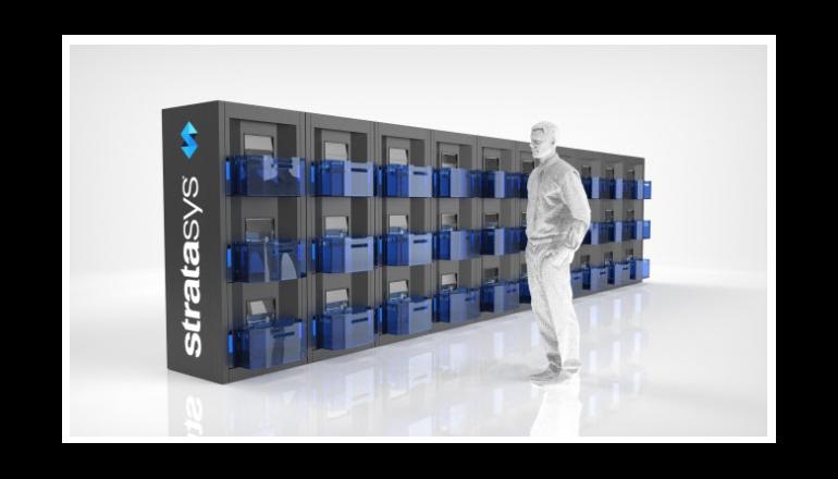 ストラタシス、連続生産向けマルチセル方式アディティブ・マニュファクチャリング・プラットフォーム