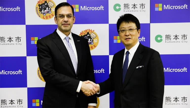 熊本市とMS、市職員・教職員の働き方改革に着手